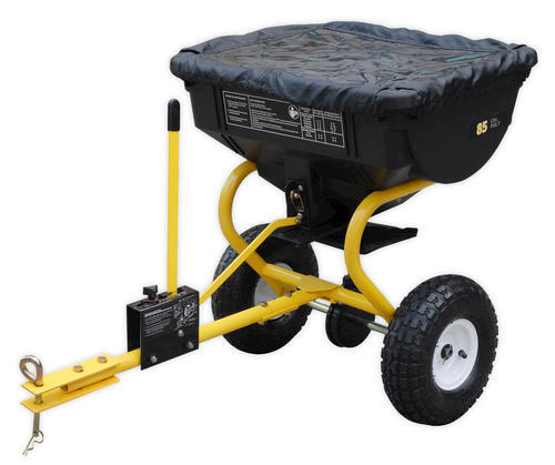 Tow Behind Broadcast Spreader : Lb capacity tow behind broadcast spreader at menards