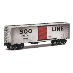 Weathered Soo Line O Gauge Boxcar