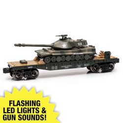 O Gauge Military Flatcar with Tank