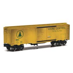 Weathered Maine Central O Gauge Boxcar