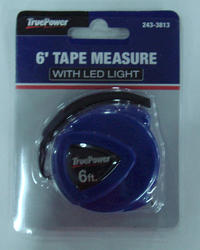 6 ft. Tape Measure with LED