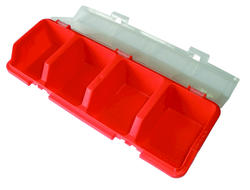 Tool Shop® 4-Bin Storage Container