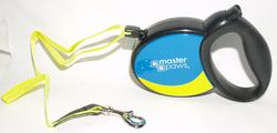 Masterpaws 16' Retractable Dog Leash For Dogs Up to 44 lb.