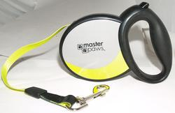Masterpaws 16' Retractable Dog Leash For Dogs Up to 110 lb.