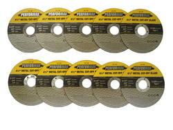 "Performax® 4.5"" Cut Off Wheel for Metal (10-Pack)"