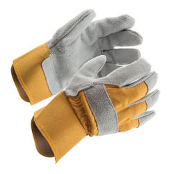 Rugged Wear Leather Palm Work Glove - Large