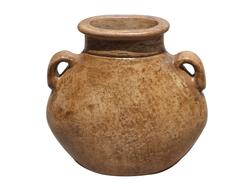 "12"" Flat Jug Clay Pot  (Assorted Styles)"