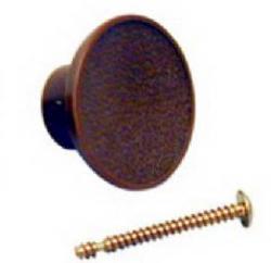 Bifold Door Knob with Installation Screw