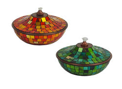 Mosaic Table Torch (Assorted Styles)