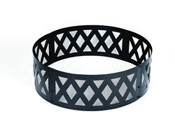"Backyard Creations™ 36"" Black Lattice Fire Ring"