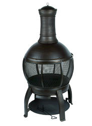 Backyard Creations™ Steel Chiminea