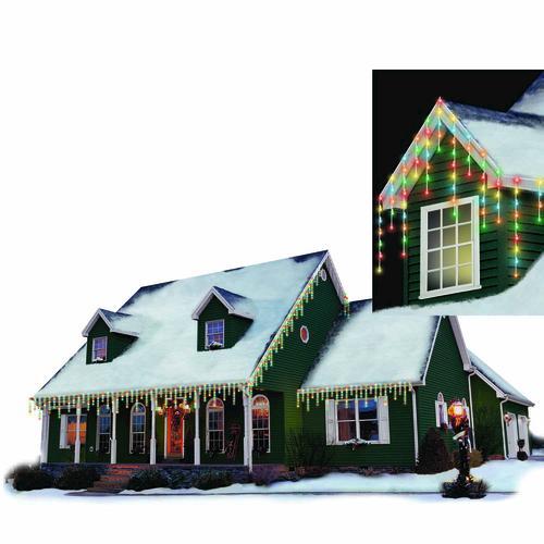 philips 125 light icicle led christmas light set at menards. Black Bedroom Furniture Sets. Home Design Ideas