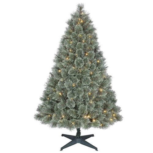 Prelit carson pine christmas tree at menards 174