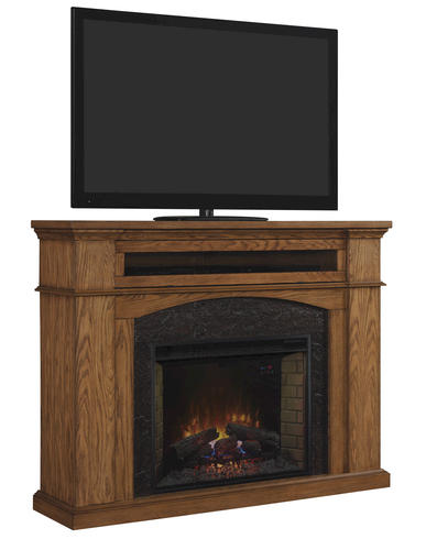 66 Oakwood Wall Mantel In Premium Oak At Menards