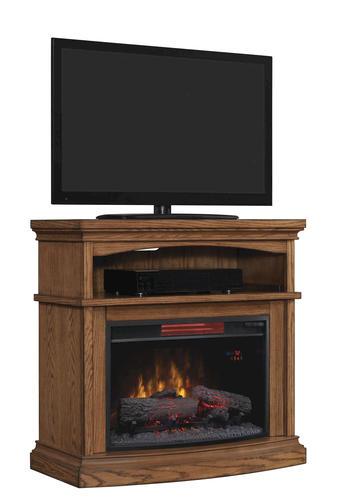 36 Midway Infrared Media Mantel In Premium Oak At Menards