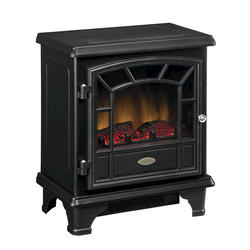 Electric Stove with Heater, Black