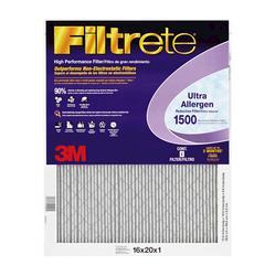 """3M 16"""" x 20"""" x 1"""" Ultra Allergen Filter"""