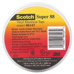 """3M 3/4"""" x 66' Super 88 Electrical Tape"""