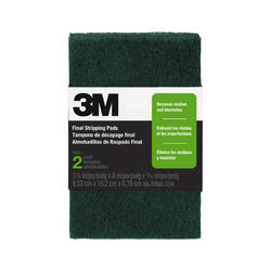 "3M™ 3-3/4"" x 6"" Final Stripping Pads - 2-pk"