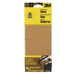 "3M™ 3-2/3"" x 9"" Medium-Grit Garnet Sandpaper - 5 pcs"