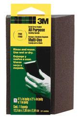 "3M™ 4-7/8"" x 2-7/8"" All-Purpose Fine-Grit Angled Sanding Sponge"