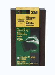 "3M™ 4-7/8"" x 2-7/8"" Large All-Purpose Fine/Medium-Grit Sanding Sponge"