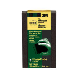"3M™ 4-7/8"" x 2-7/8"" Large All-Purpose Extra Fine/Fine-Grit Sanding Sponge"