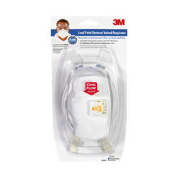 3M™ TEKK Protection™ Lead Paint Removal Valved Respirator Mask