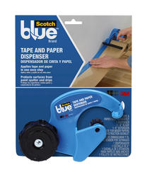 ScotchBlue™ Tape and Paper Dispenser