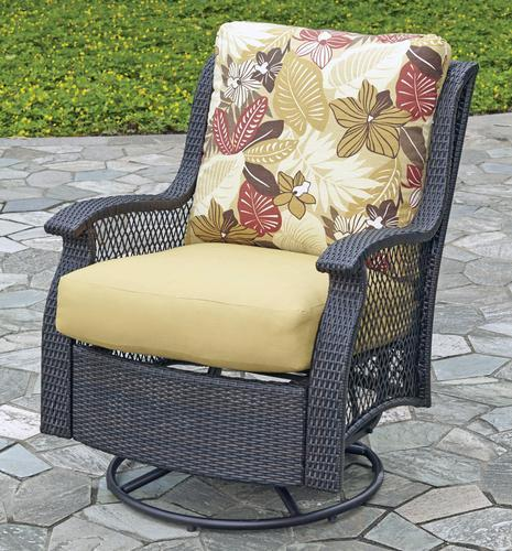 Patio Chair Repair San Diego: Backyard Creations® San Paulo Swivel Glider At Menards®