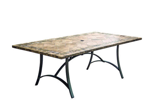 "Fresno 42"" x 80"" Tile Table"