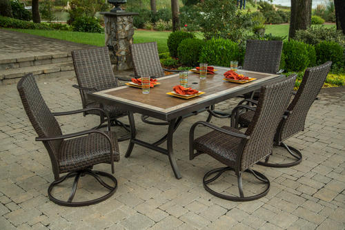 piece woodland dining collection at menards