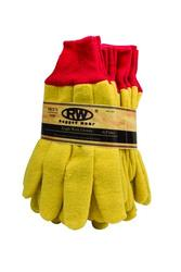 Rugged Wear Yellow Fleece Glove - Large (6 Pairs)