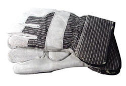 Rugged Wear Lined Leather Palm Glove (2 Pairs)