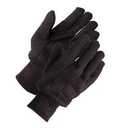 Rugged Wear Brown Jersey Glove - Large