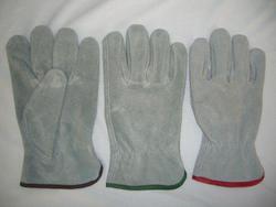 Rugged Wear Suede Leather Work Glove - Medium