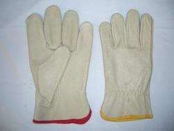 Rugged Wear Ladies Grain Leather Glove - Medium
