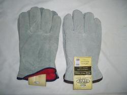 Rugged Wear Foam-Lined Leather Glove