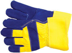 Rugged Wear Foam-Lined Leather-Palm Glove - X-Large