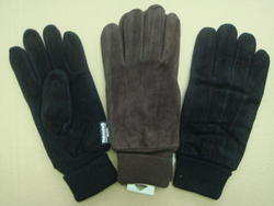Rugged Wear Lined Suede Pigskin Glove - One Size Fits All