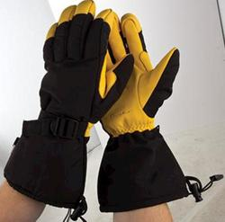 Rugged Wear Deer Skin Winter Gloves