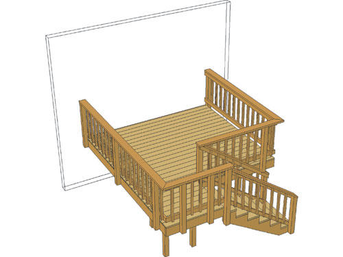 10 x 12 deck package pictures to pin on pinterest pinsdaddy for 10 x 8 deck plans