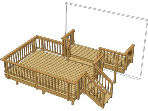 12x14 deck pictures to pin on pinterest pinsdaddy for 10 x 14 deck plans