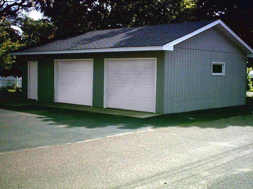 24 39 x 32 39 x 8 39 2 car garage at menards for 24 x 32 pole barn plans