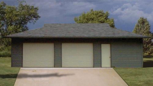 24 39 x 36 39 x 9 39 2 car garage at menards for 24 x 36 garage