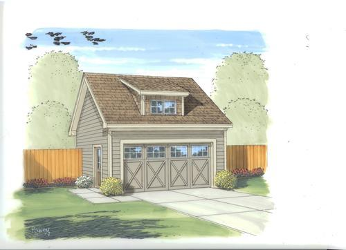 25 39 x 21 39 x 10 39 2 car garage with dormer at menards for 10 x 7 garage door menards