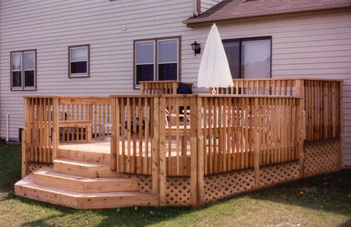 8 39 x 12 39 upper deck with 12 39 x 14 39 lower deck building for 10 x 14 deck plans
