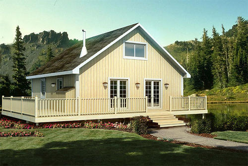 G20001 cabin retreat at menards for Home building packages