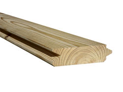 "2"" x 6"" x 20' #2 Prime Tongue-and-Groove Southern Yellow Pine Lumber"