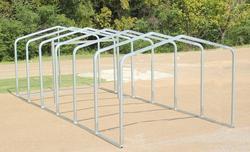 12'W x 27'L x 7'H Stor-Port Shelter Frame